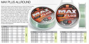 FILO TRABUCCO MAX PLUS ALLROUND MT150-035
