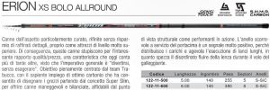 CANNA BOLOGNESE TRABUCCO ERION XS ALLROUND MT6