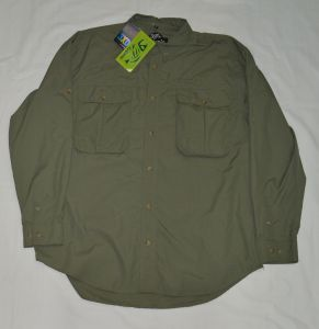 CAMICIA GLOOMIS 3XDRY LONG SLEEVE TG.XL  VERDE